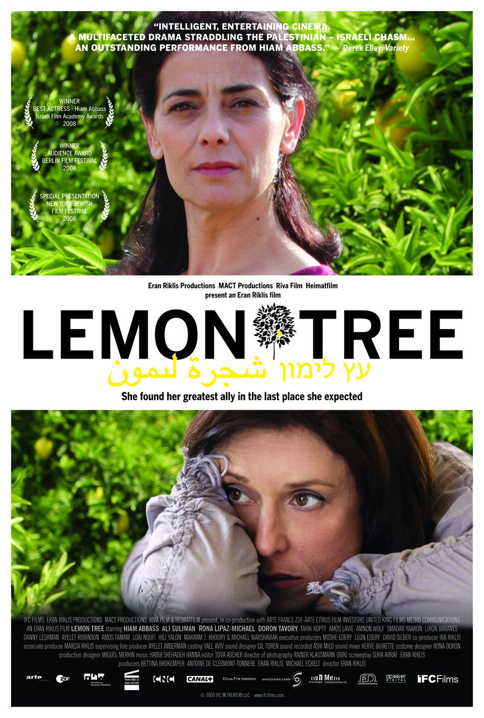 the plight of palestinian people in lemon tree by eran riklis Lemon tree  directed by eran rikliswith hiam abbass, rona lipaz-michael, ali suliman, doron tavoryin arabic, hebrew and english with english subtitles (not rated 106 minutes at opera plaza .