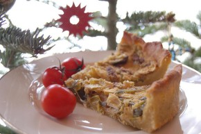 Meat-Free Monday Recipe: Broccoli, Mushroom & Tomato TofuQuiche