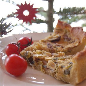 Meat-Free Monday Recipe: Broccoli, Mushroom & Tomato Tofu Quiche