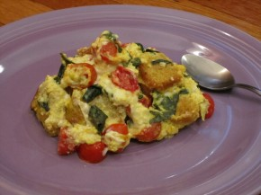 Meat-Free Monday Recipe: Vegan Tomato BasilStrata