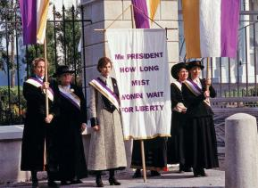 Happy Women's Equality Day! Celebrate By Watching Media Honoring Women's Suffrage