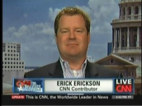 Asshat CNN Contributor Erick Erickson Wants to Silence Powerful Women by Reducing Them toVaginas