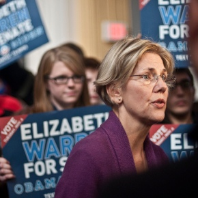 Elizabeth Warren's Fight for Women vs. Scott Brown's Faux Pro-Choice Stance