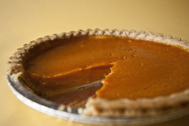 Vegan Pumpkin Pie 2