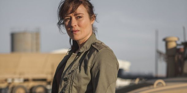 Jessica (Jennifer Ehle) in 'Zero Dark Thirty'