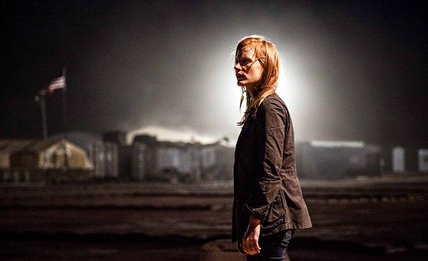 Jessica Chastain as Maya in 'Zero Dark Thirty'