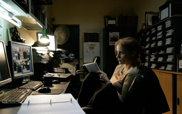 Maya (Jessica Chastain) in 'Zero Dark Thirty'