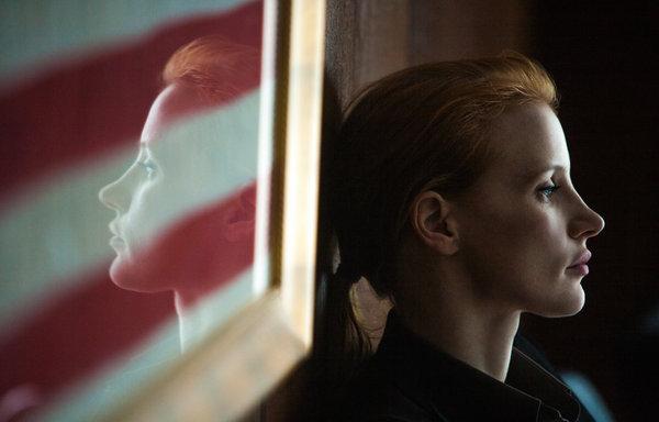 Maya (Jessica Chastain) in 'Zero Dark Thirty'