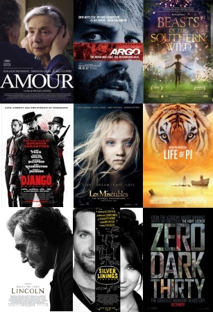 2013 Best Picture Oscar Nominees