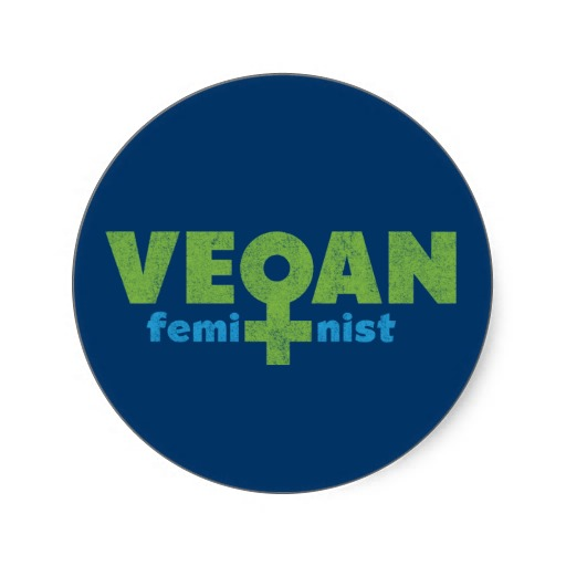 Vegan Feminist via Zazzle.com