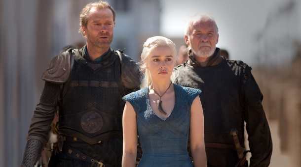 Game of Thrones Daenerys and Jorah