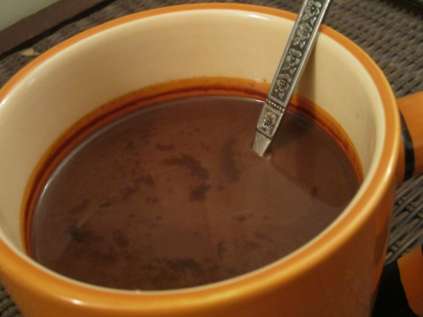 Vegan Hot Chocolate | image by The Opinioness